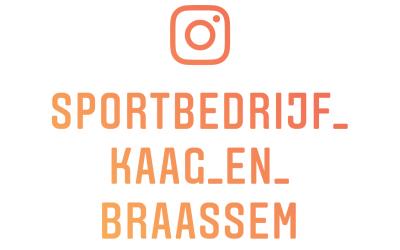 Sportbedrijf Kaag en Braassem nu ook actief op Instagram!